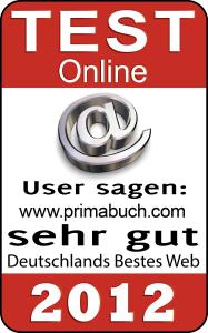 Primabuch-Testsiegel-Auszeichnung User sagen: sehr gut